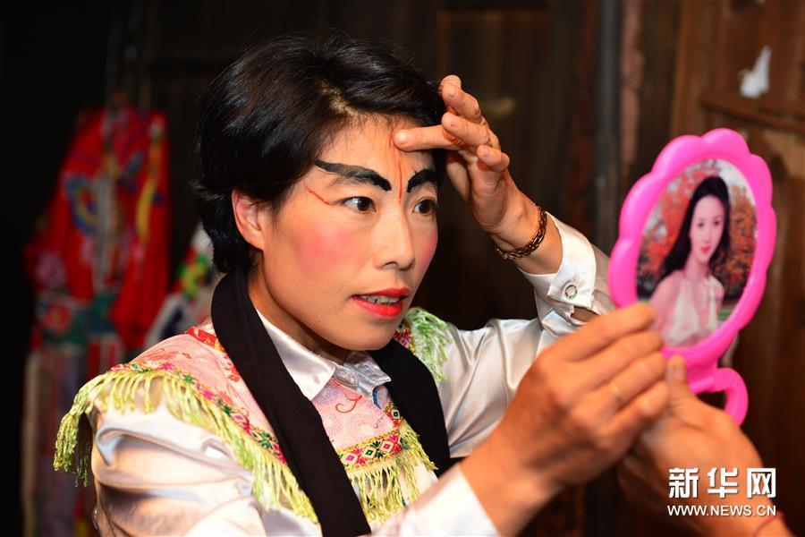 #(图片故事)(5)小广侗戏:乡村戏班的学问坚守