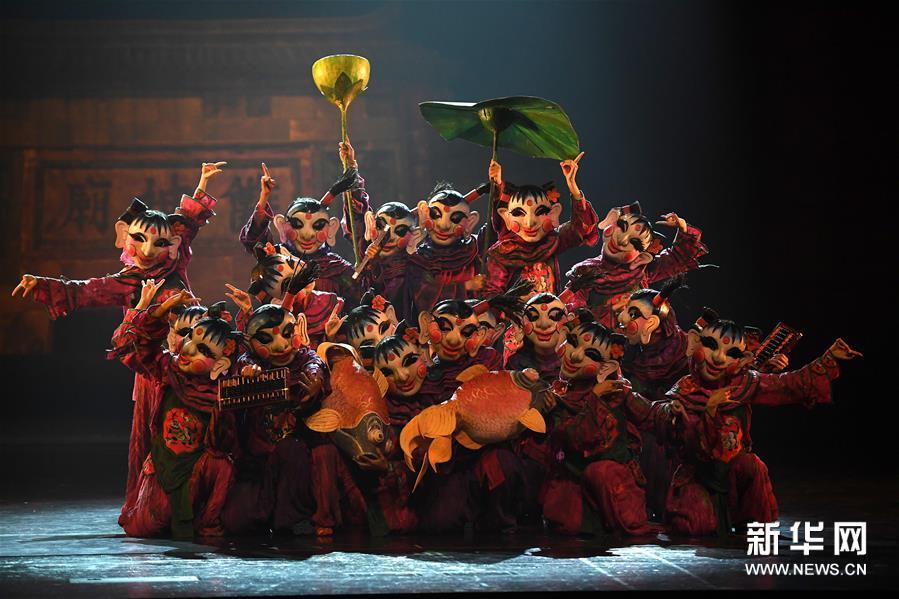 (学问)(1)非物质学问遗产研创舞剧《傩情》在南昌上演