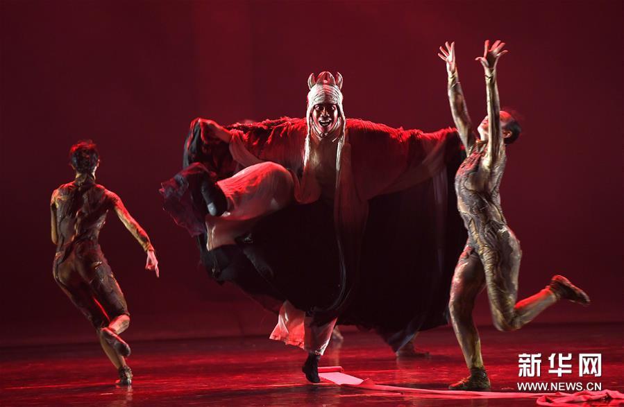 (学问)(3)非物质学问遗产研创舞剧《傩情》在南昌上演
