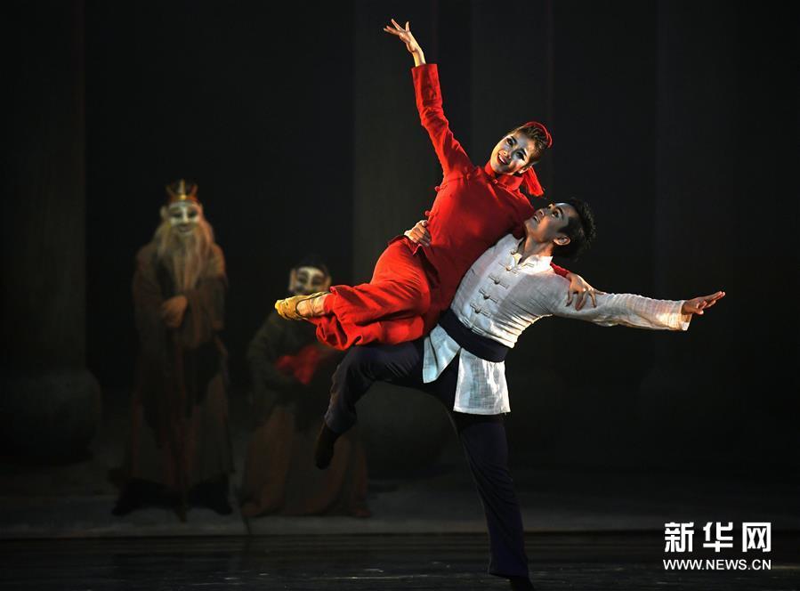 (学问)(5)非物质学问遗产研创舞剧《傩情》在南昌上演