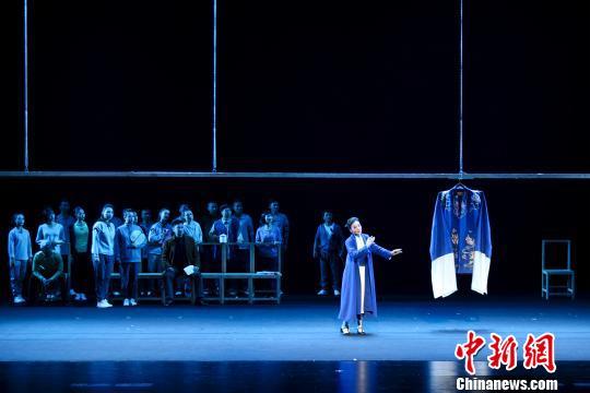 梅兰芳艺术节泰州开幕大型京剧现代戏《青衣》首演