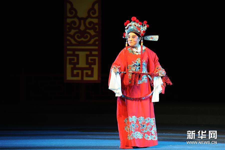 (学问)(1)中国秦腔优秀剧目会演在西安举行