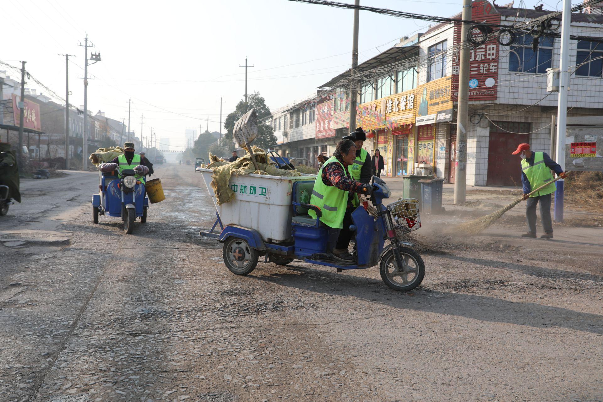 韩村镇:深入开展村庄清洁行动 助推主题教育入深入实