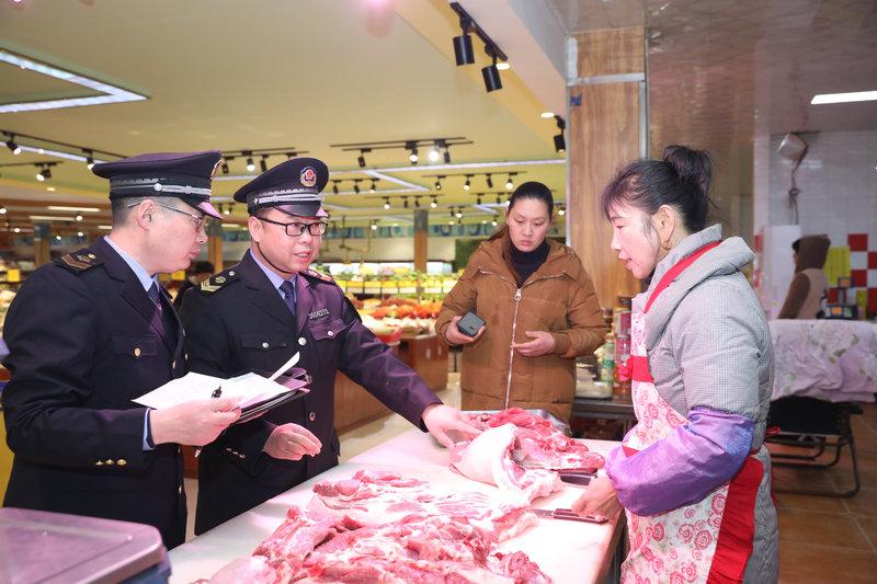 雙堆集鎮開展食品安全大檢查 消除食品安全隱患